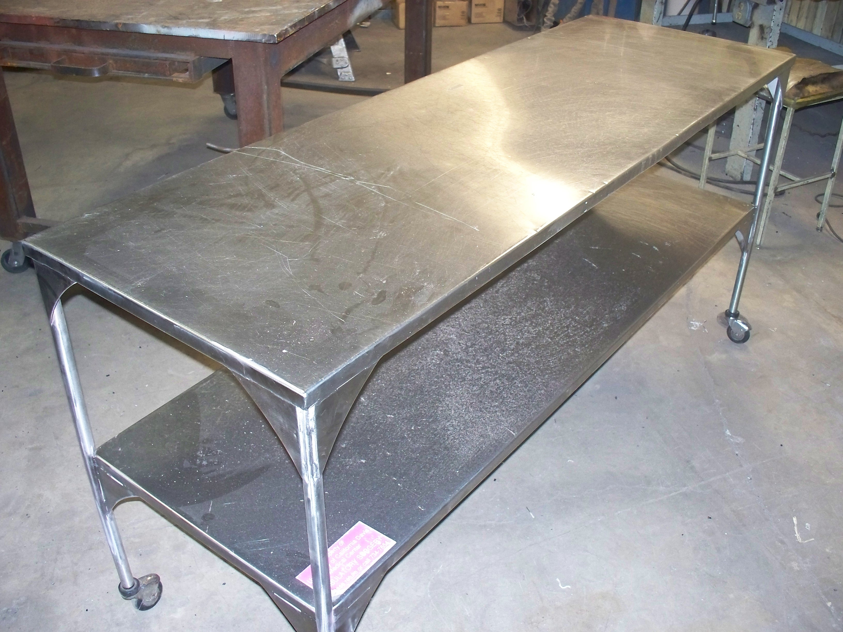 Repair Stainless Steel EAGLE WELDING SERVICE - Stain steel table